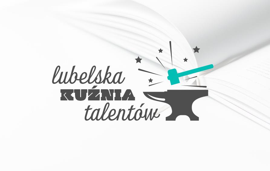 grafika-logo lubelska kuźnia talentów