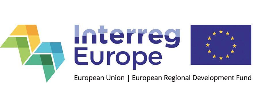 Logo Interreg Europe European Union European Regional Development Fund
