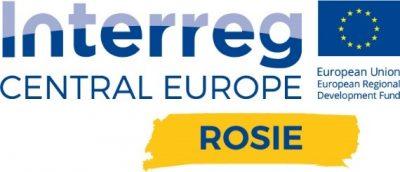 Logo projektu Interreg Central Europe Rosie