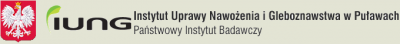 logo Instytutu Uprawy Nawożenia i Gleboznawstwa Państwowy Instytut Badawczy w Puławach