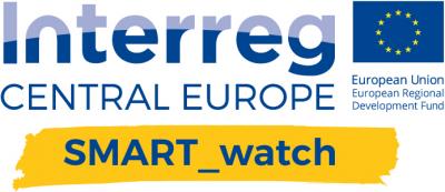 Logo projektu Interreg Central Europe Smart watch