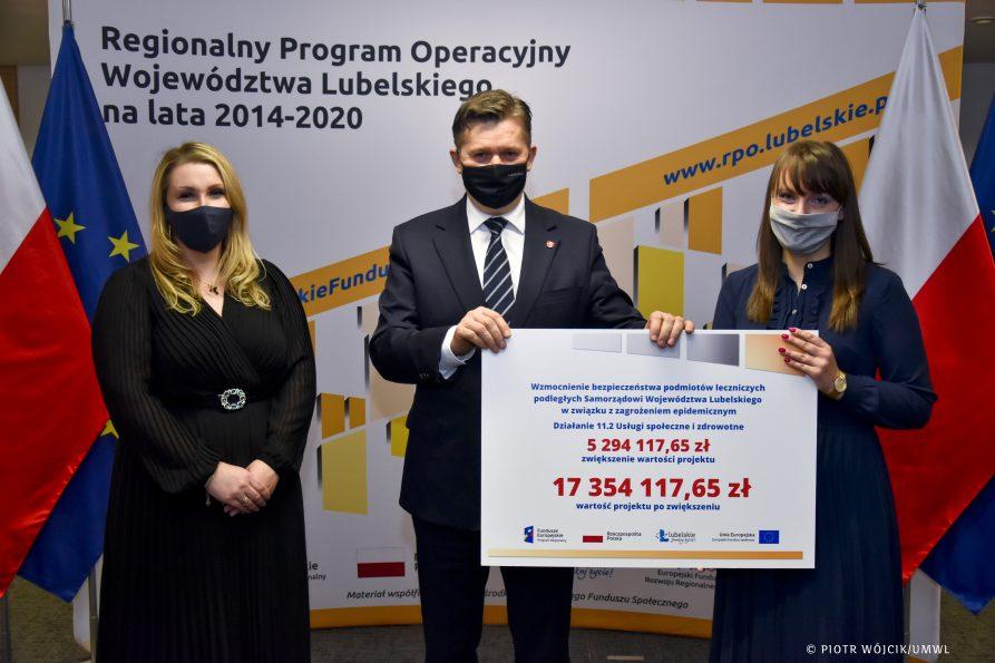 Dodatkowe miliony dla szpitali na walkę z COVID-19