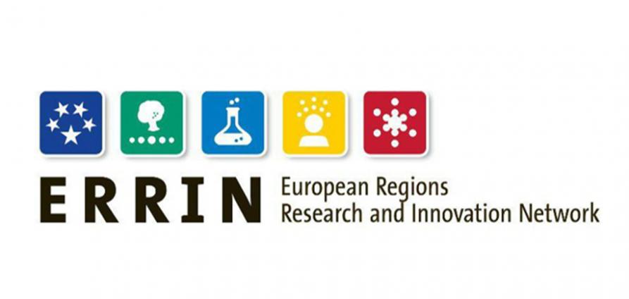 Logo programu ERRIN - European Regions Research and Innowvation Network