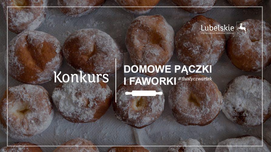 """Konkurs na """"Domowe pączki i faworki"""""""