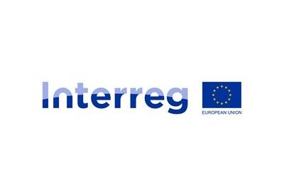 logo programu granatowe litery Interreg
