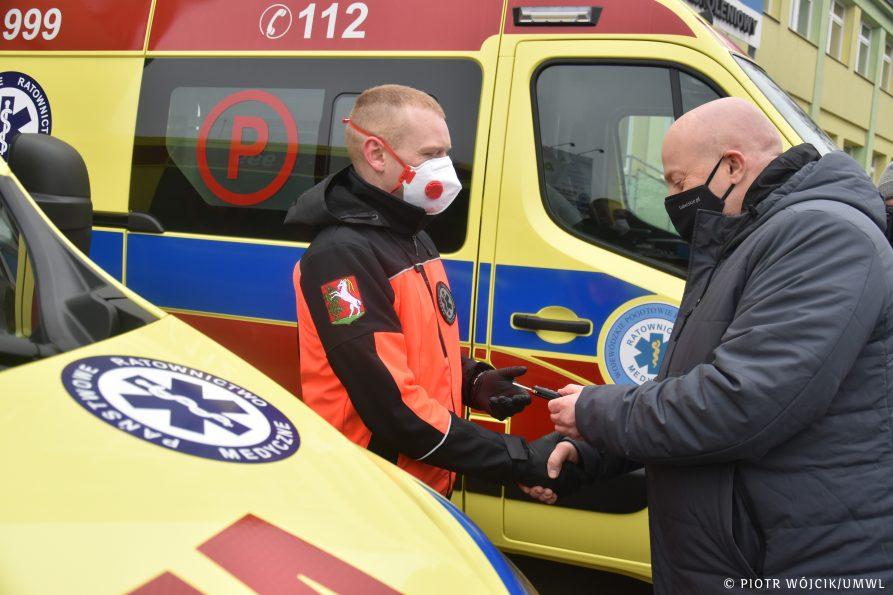 Nowe ambulanse dla Pogotowia Ratunkowego w Lublinie