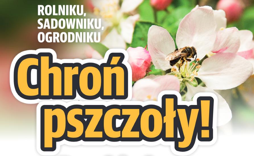 Apel do pszczelarzy, rolników i sadowników