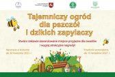 Baner konkursu Tajemniczy ogród dla pszczół i dzikich zapylaczy