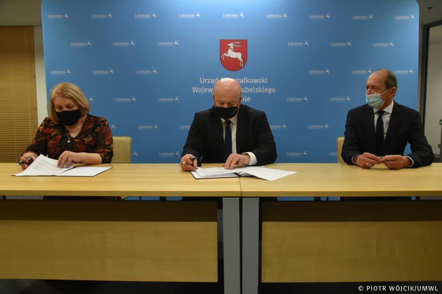 List intencyjny w sprawie współpracy Powiatu Lubartowskiego i Województwa Lubelskiego