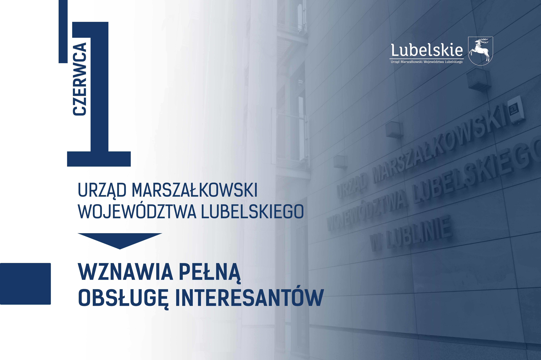 Zniesienie ograniczeń wykonywania zadań przez Urząd Marszałkowski