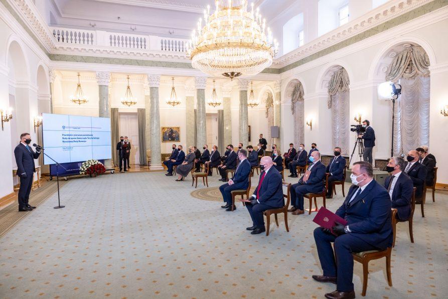 Marszałek Jarosław Stawiarski na czele prezydenckiej Rady ds. Samorządu Terytorialnego