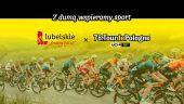W tle peleton kolarski, napis z dumą wspieramy sport, lubelskie smakuj życie, 78. Tour de Pologne