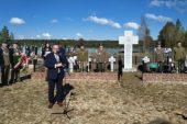 Uroczystości upamiętniające żołnierzy Korpusu Ochrony Pogranicza w Mielnikach