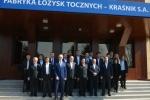 Wspólne zdjęcie delegacji z Chin i Lubelszczyzny
