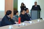 Wizyta Ministra Miao Wei w Fabryce Łożysk Tocznych - Kraśnik S.A. - delegacja chińska