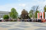Plac Litewski podczas uroczystości.