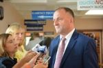 Wicemarszałek Kapusta odpowiadał na pytania dziennikarzy