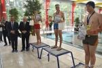 Laureaci lokalnego konkursu młodzieżowego w pływaniu