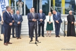 Przemówienie wicemarszałka Michała Mulawy podczas otwarcia basenu w Tomaszowie