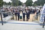 Na otwarcie basenu przybyli tłumnie mieszkańcy Tomaszowa