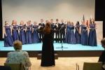 Występ chóru z Domu Kultury w Białymstoku podczas obchodów 140. rocznicy odzyskania niepodległości przez Bułgarię