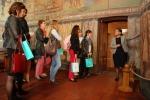 Spotkanie partnerów z projektu CIVEEL 19.04.2018 - zwiedzanie Kaplicy na Zamku Lubelskim