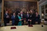 Podpisanie umowy o współpracy pomiędzy Muzeum Lubelskim w Lublinie oraz Muzeum Regionalnym im. Juliusza Słowackiego w Krzemieńcu