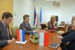 Spotkanie delegacji z Prowincji Gelderland z Marszałkiem Sławomirem Sosnowskim