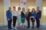 Na zdjęciu delegacja z Obwodu Tarnopolskiego wraz z pracownikami Urzędu Marszałkowskiego