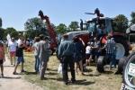 Wystawa sprzętu rolniczego - nieodłączny element Dnia Otwartych Drzwi w Końskowoli (© LODR w Końskowoli)