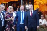 Parę prezydencką na stoisku regionalnym podejmował wicemarszałek województwa lubelskiego Grzegorz Kapusta (fot. Patrycja Stachowska-Szczotka/UMWL)