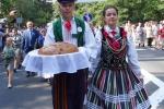 Lubelska delegacja w korowodzie dożynkowym (fot. Patrycja Stachowska-Szczotka/UMWL) Dyplom za zajęcie I miejsca.