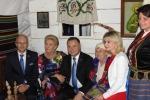 Prezydent Andrzej Duda z małżonką odwiedził m.in. zainscenizowaną izbę przy lubelskim stoisku