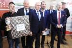 Restauratorzy z hotelu Huzar w Lublinie z pierwszą nagrodą za sandacza w sosie rakowym