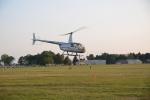loty helikopterem podczas dożynek