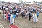 Komunia święta podczas mszy