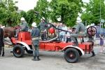 Największe zainteresowanie podczas wystawy wozów stazackich miał wóz OSP z Kawęczyna.