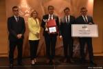 Gala finałowa konkursu Rolnik z Lubelskiego 2020.  Wręczenie nagrody za trzecie miejsce w kategorii sadownictwo