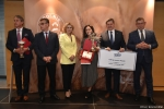 Gala finałowa konkursu Rolnik z Lubelskiego 2020.  Wręczenie nagrody za drugie miejsce w kategorii sadownictwo.