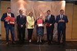 Gala finałowa konkursu Rolnik z Lubelskiego 2020. Wręczenie pamiątkowych dyplomów wyróżnionym w kategorii produkcja zwierzęca.