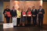 Gala finałowa konkursu Rolnik z Lubelskiego 2020. Wręczenie nagrody za drugie miejsce w kategorii produkcja zwierzęca.