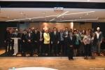 Gala finałowa konkursu Rolnik z Lubelskiego 2020.  Grupowe zdjęcie wszystkich uczestników wydarzenia wraz z kapitułą konkursu