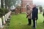 cmentarz w Oosterbeek - groby polskich żołnierzy