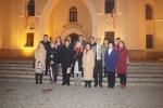 Delegacja z prowincji Henan wraz z przedstawicielami Województwa Lubelskiego pod Zamkiem Lubelskim w Lublinie