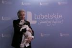Hochman i ukochany pies Dyluś. Fot. Krzysztof Basiński