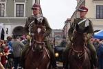 Jedną z atrakcji Hubertusa zapewnili kawalerzyści ze Szwadronu Kawalerii Ochotniczej w barwach 9 Pułku Ułanów Małopolskich