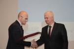 Gratulacje dla Henryka Domańskiego, zasłużonego pracownika Polskiej Federacji Hodowców Bydła i Producentów Mleka