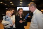 Karol Kiełczykowski, zwycięzca w dwóch kategoriach, udziela wywiadu Radiu Lublin