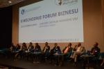 Panel dyskusyjny podczas forum.