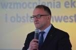 Wicemarszałek Grzegorz Kapusta podczas przemówienia